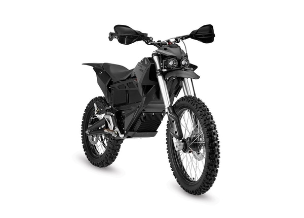 The Zero MMX dirtbike is an all-electric, silent motorcycle in use by law enforcement agencies. It can run up to 90 miles on a single charge and keep going with a battery
