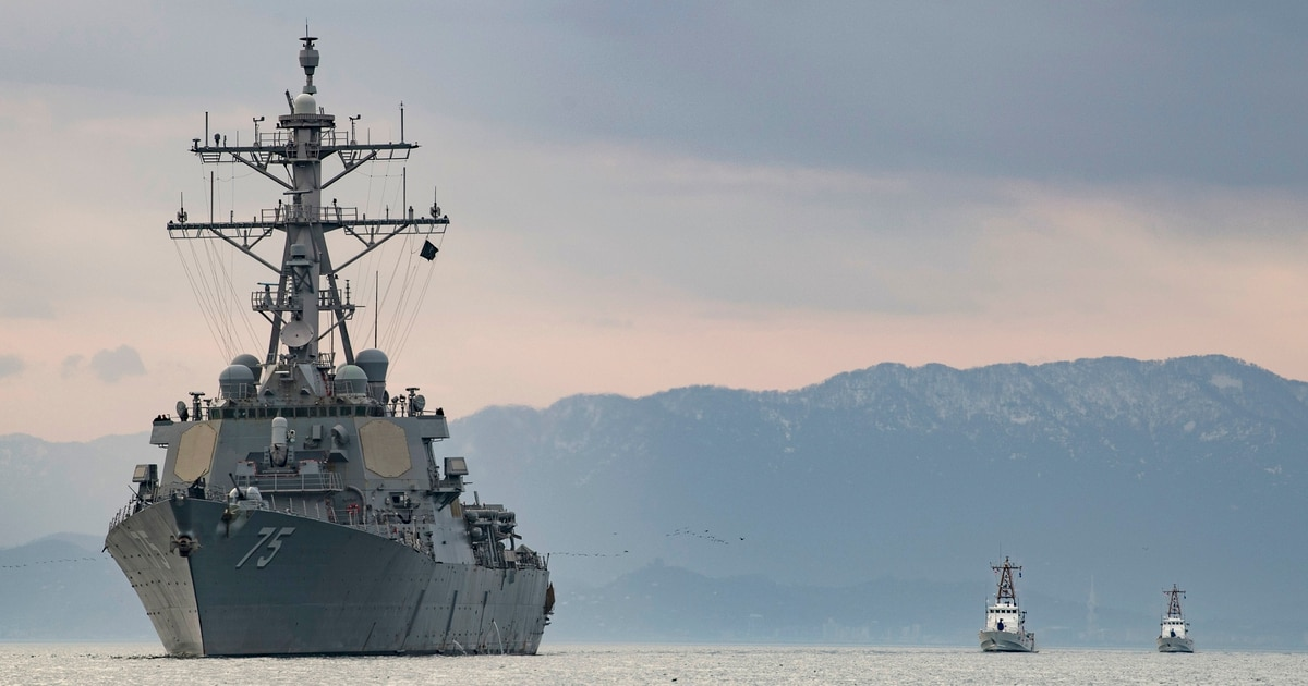 Destroyer Donald Cook sails into Black Sea as Russia tensions rise