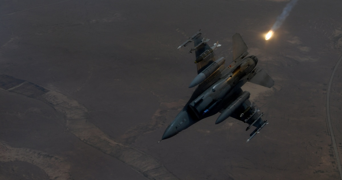 F-16 escorts private aircraft from restricted airspace near Trump event in Arizona