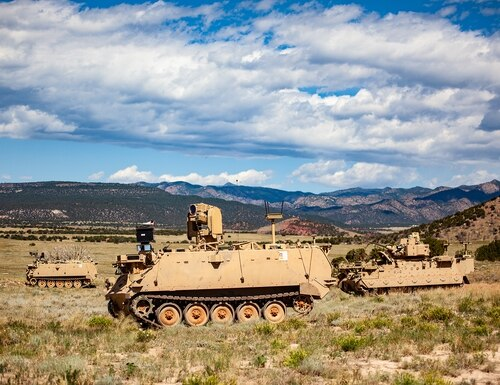 The Army knows robotic combat vehicles will play an important role in the ecosystem of ground operations, and it is developing light, medium and heavy RCVs to fight alongside optionally manned or manned combat vehicles in the formation. (Courtesy of the U.S. Army)