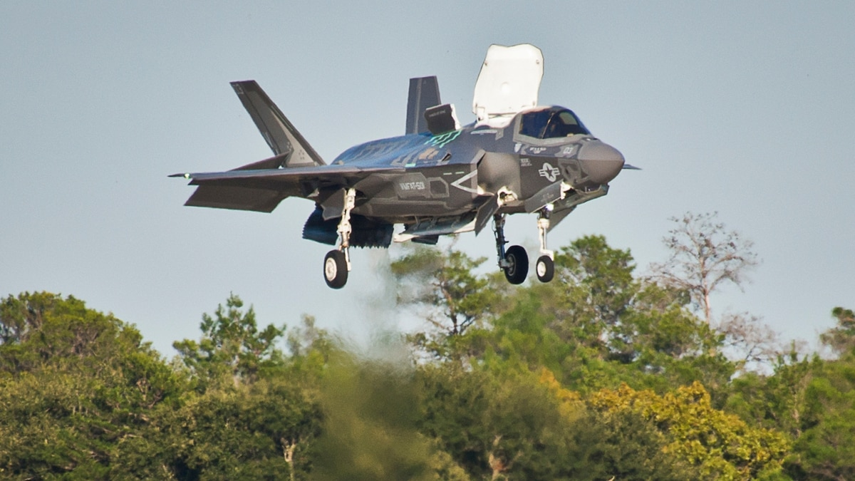 The Marine Corps' 'No  1 priority' for the F-35 involves a