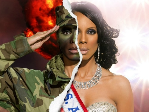 Raquel Riley Thomas was an Army photojournalist and ordnance officer. Now, she owns her own production company and works as a beauty and fashion influencer. (Photo courtesy of Derek Blanks Photography)