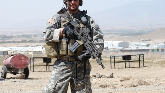 Staff Sgt. Ronald Shurer II will receive the Medal of Honor for his actions during a fierce firefight April 6, 2008, in Afghanistan. (Courtesy photo)