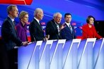 Amid Iran tensions, Democratic hopefuls joust over military plans