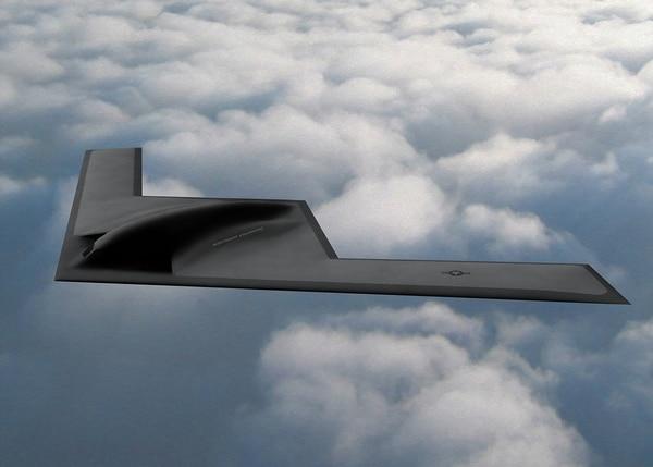 The B-21 Raider stealth bomber. (Northrop Grumman)
