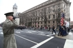 President, Pentagon put off Washington parade