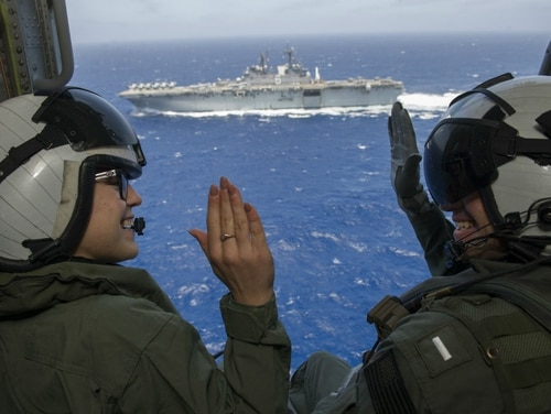Advancement and retention incentives are expected to rise with the Navy's plan for extensive growth. (MC1 Demetrius Kennon/Navy)