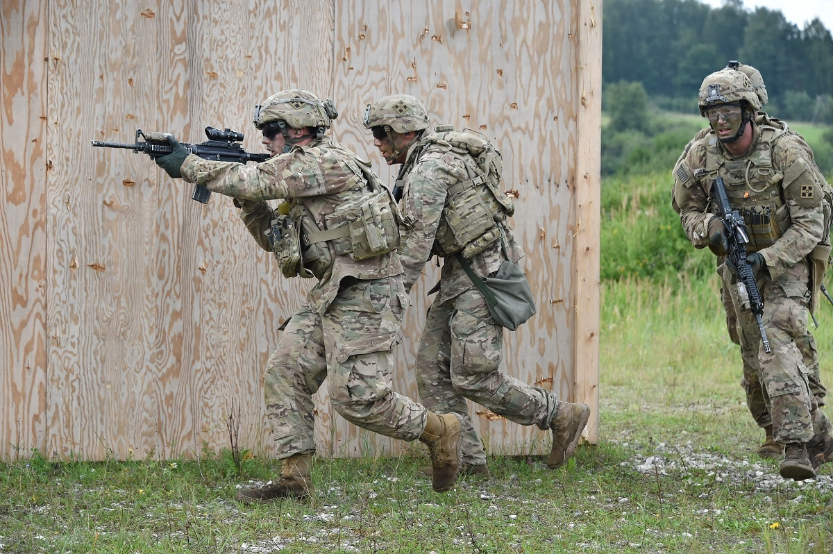 U.S. Army Soldiers • Combined Arms Live-Fire • Grafenwoehr Training Area, Germany