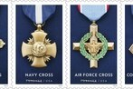 Postal Service will issue stamps of military Service Cross medals