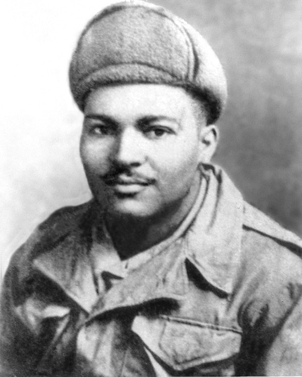 Cornelius H. Charlton was posthumously awarded the Medal of Honor. (U.S. Military Sealift Command)