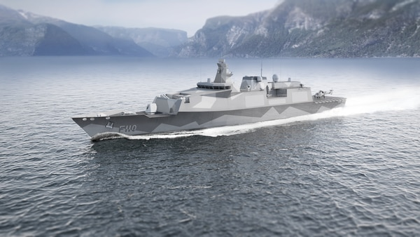 Industrialist John Parker in a 2016 report described BMT Defence Service's Venator-110 ship design as an example of the right design approach for the Type 31e frigate. (BMT Defence Services)