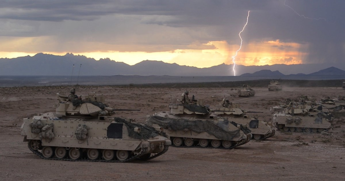 What Will Replace The Bradley Fighting Vehicle