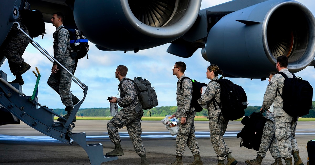 Air Force eyes 1,600 airmen for possible 'deploy or get out