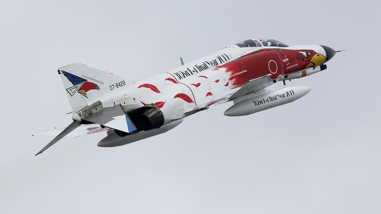 A farewell to the Phantom fleet, as Japan transitions to the