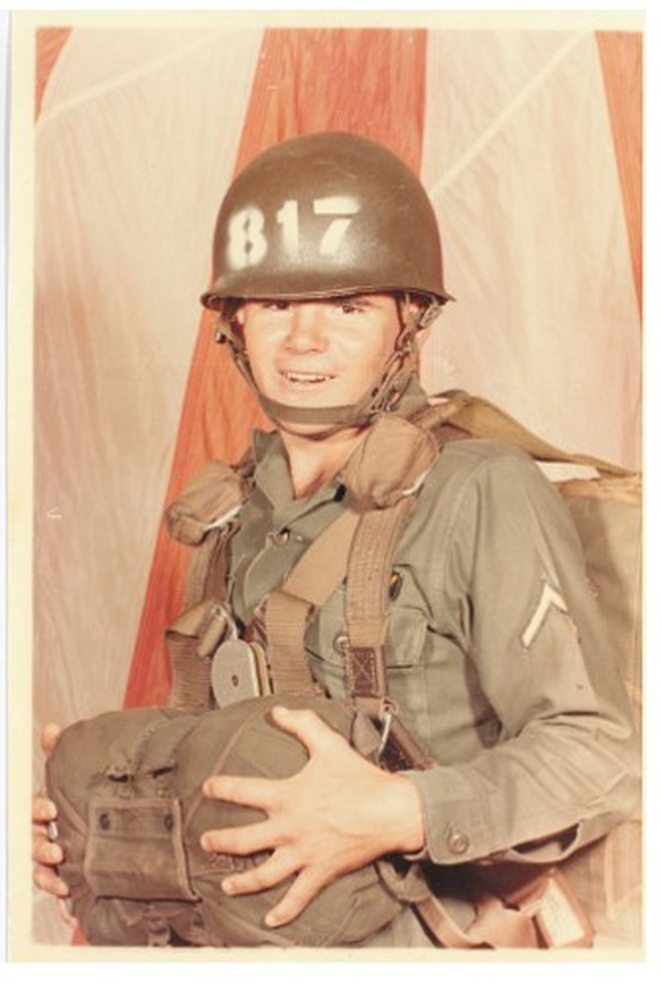 Pvt. 1st Class Gary M. Rose at Fort Benning, Georgia, in September 1967. (Photo courtesy Gary M. Rose)