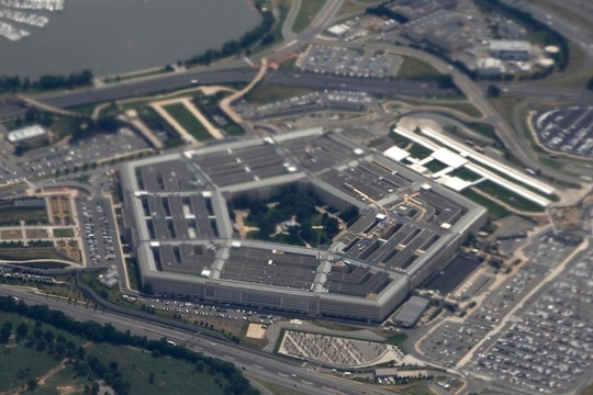 The Defense Department's enterprise cloud contract continues to be tied up in court. (Charles Dharapak/AP)