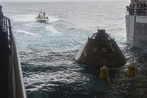 NASA, Navy practice Orion recovery in the Pacific Ocean