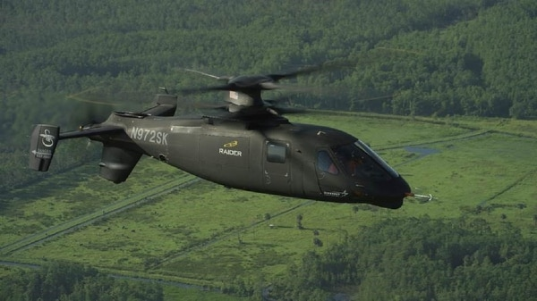 Sikorsky's S-97 Raider has hit 200 knots in a recent flight test, according to Lockheed Martin, which owns the company. (Courtesy of Lockheed Martin's Sikorsky)