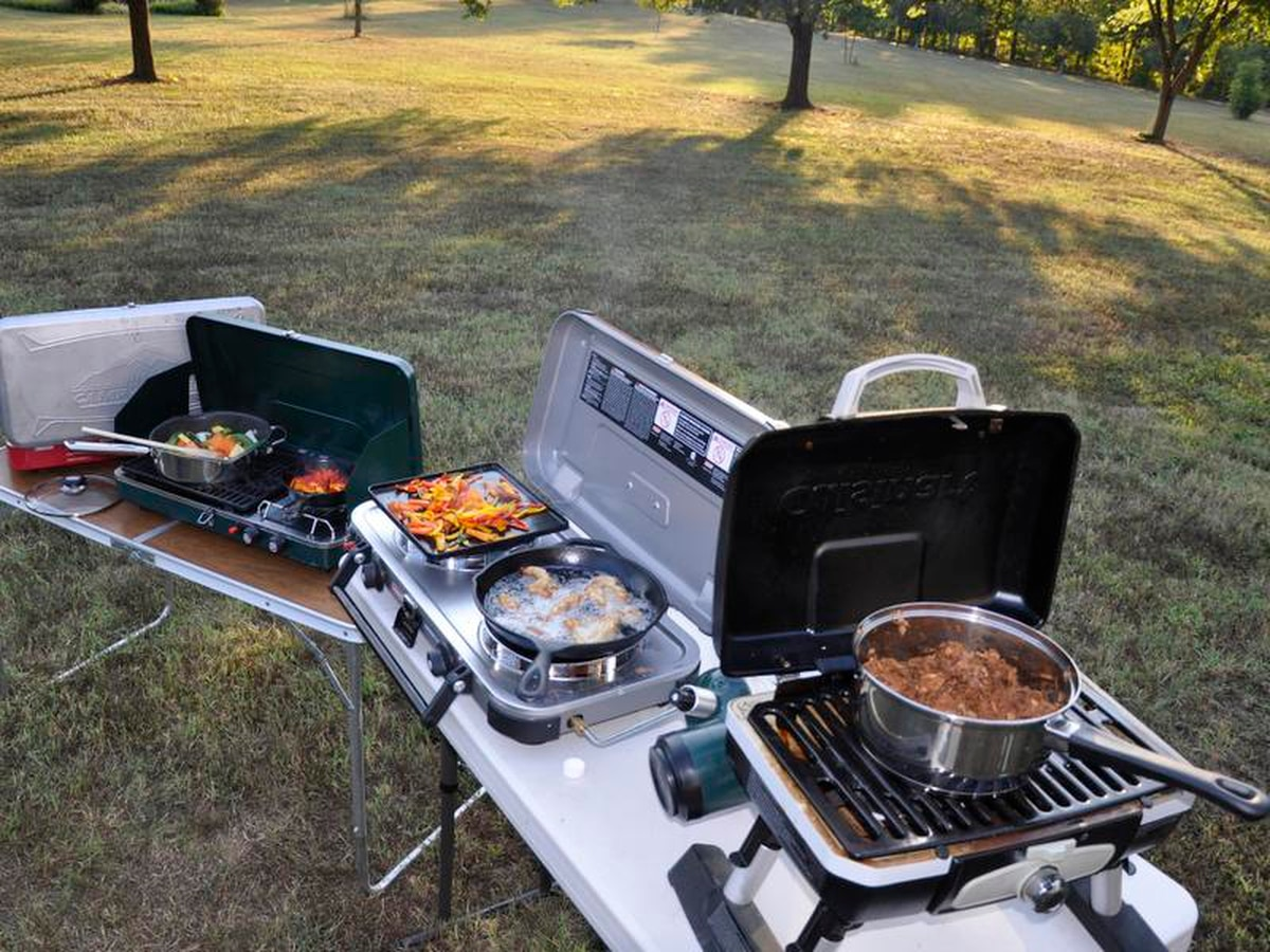 4 New Portable Stove Grills For Camping And Tailgating