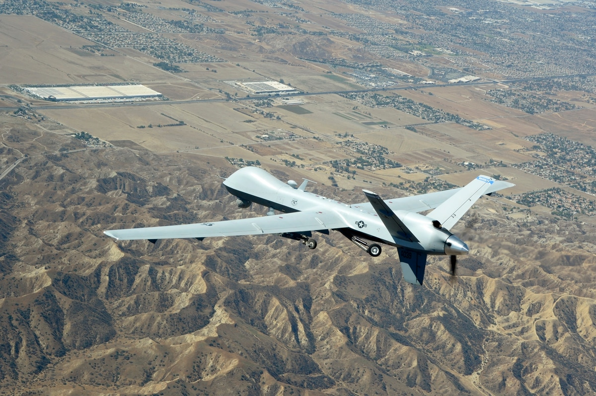 Image result for US drone in Somalia