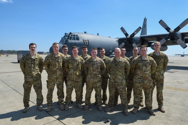 The aircrew of Spooky 43, an AC-130U gunship, fought furiously through smoke and malfunctioning weapons to keep U.S. and Afghan troops on the ground safe for hours. Five members have been nominated for the Distinguished Flying Cross with Valor. (Air Force)