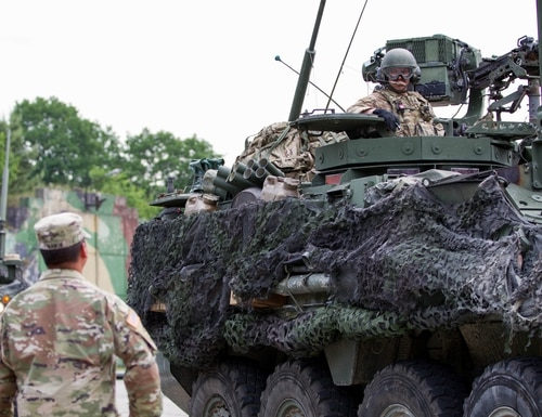 NATO plans to turn a town in central Poland into a key storage hub for U.S. combat equipment. (Capt. Jeku Arce/U.S. Army)