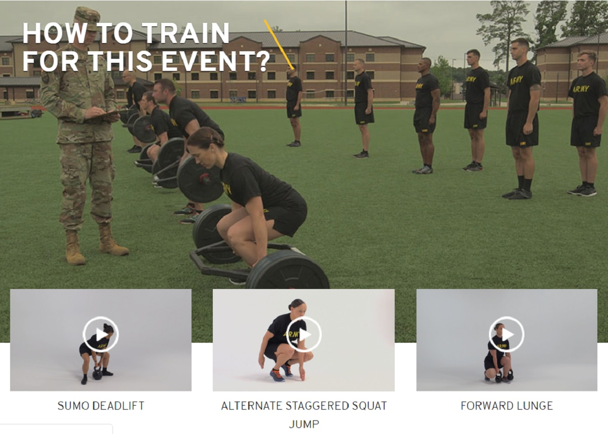 Everything you need to know about the new Army fitness test