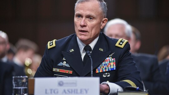 In recent remarks, Defense Intelligence Agency Director Lt. Gen. Robert Ashley expressed concerns over emerging technologies like hypersonics, cyber attacks and more. (Brian Murphy/Defense Intelligence Agency)