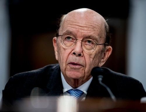 According to an investigation from the Office of Inspector General, during congressional testimony three years ago, former U.S. Commerce Secretary Wilbur Ross gave a misleading reason for why he wanted a citizenship question on the 2020 census. (Andrew Harnik/AP)