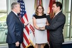 Mark Esper sworn in as 23rd Army secretary