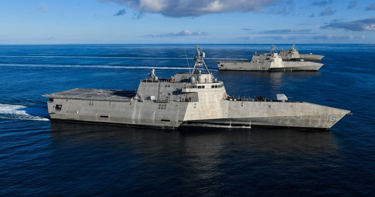 Cannibalized parts, systems that sailors can't fix: LCS maintenance woes could get worse, watchdog warns