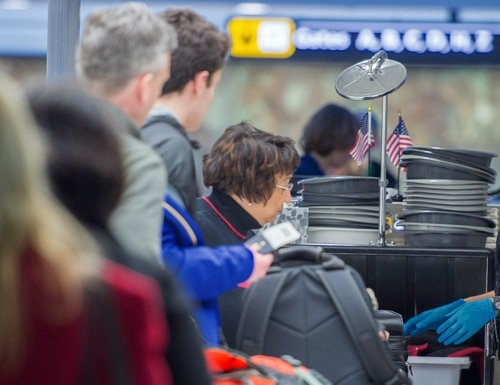 Qualifying disabled veterans would get TSA PreCheck for free. (Paul J. Richards/AFP/Getty Images)