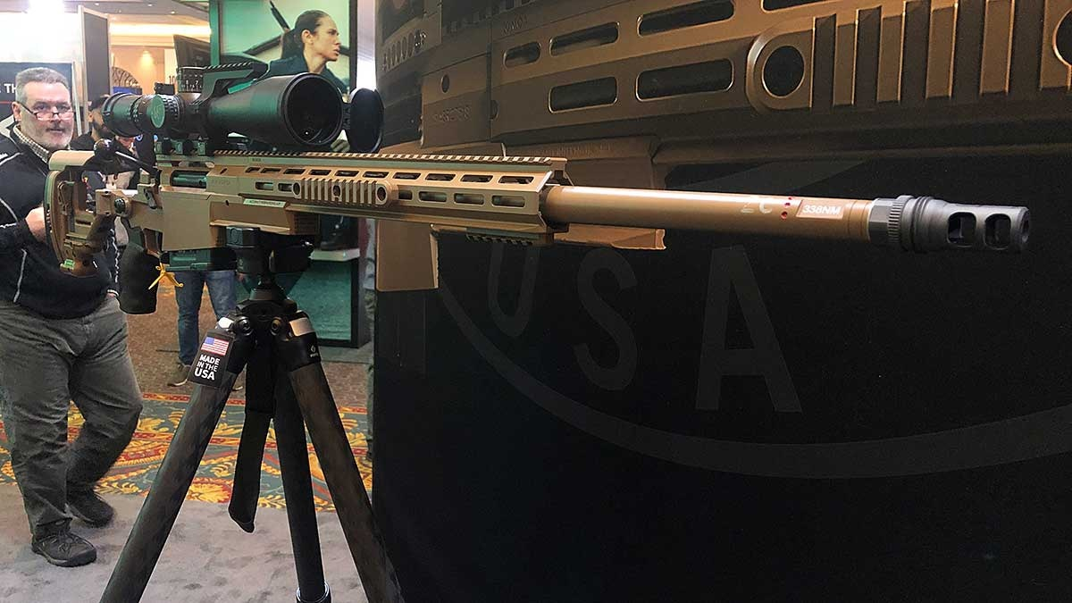 This multi-caliber rifle from Accuracy International could