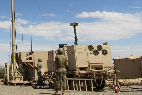 The 343rd Air Defense Artillery Battalion did a first-ever simultaneous shoot on a new radar and missile combination that's leading the way for how the Army conducts air defense. (Army Futures Command)