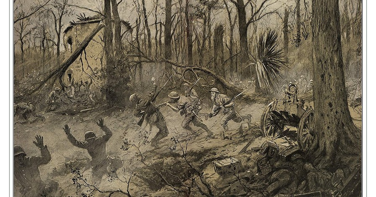 The U.S. Marines' mythic fight at Belleau Wood