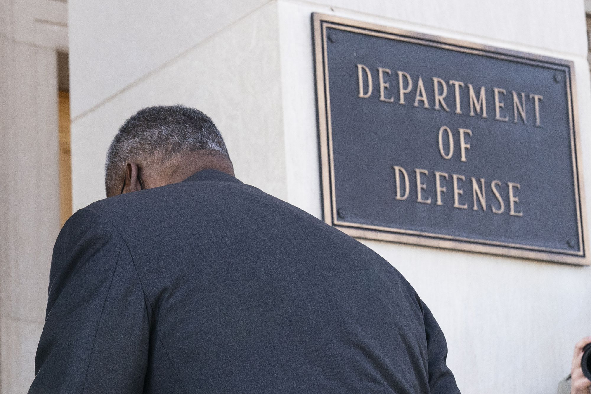 For 1st Black Pentagon chief, racism challenge is personal