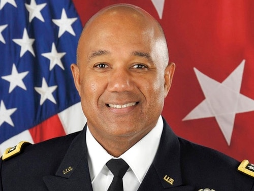 Lt. Gen. Darryl A. Williams, a 1983 U.S. Military Academy graduate, will become the first black officer to command West Point in its 216-year history, academy officials announced Friday. (U.S. Military Academy via AP)