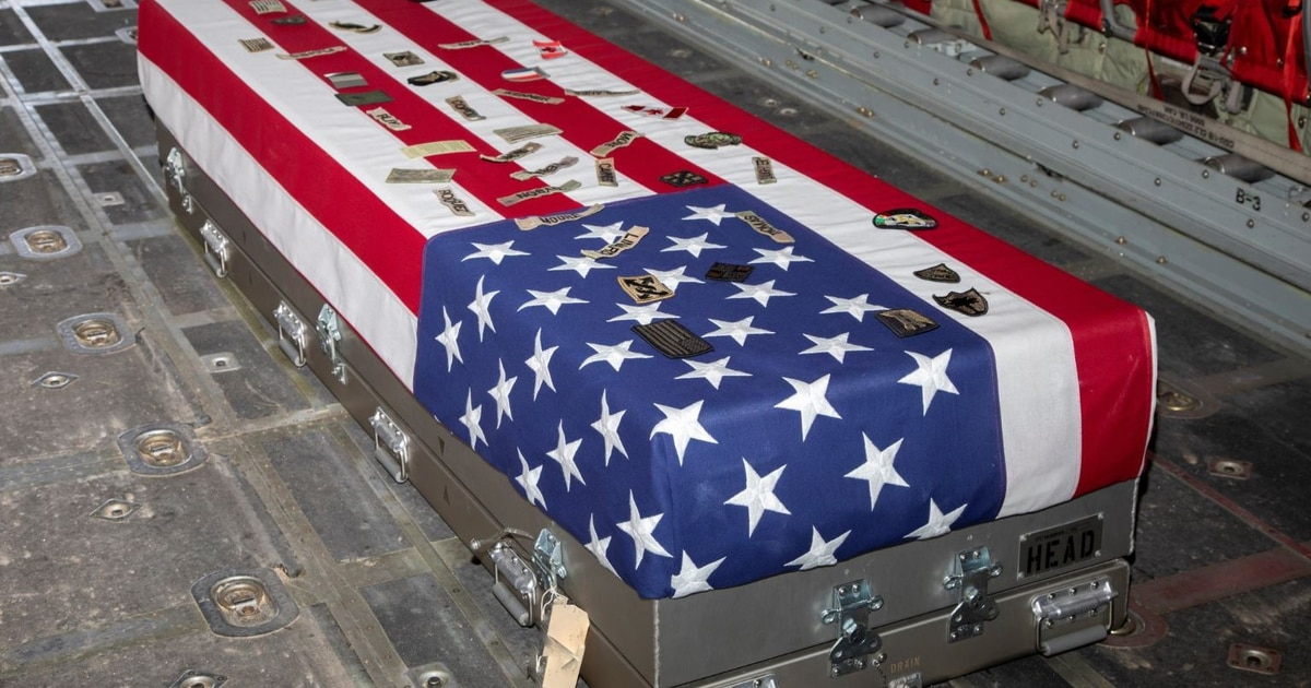 Remains of combat engineer who died in Syria brought home