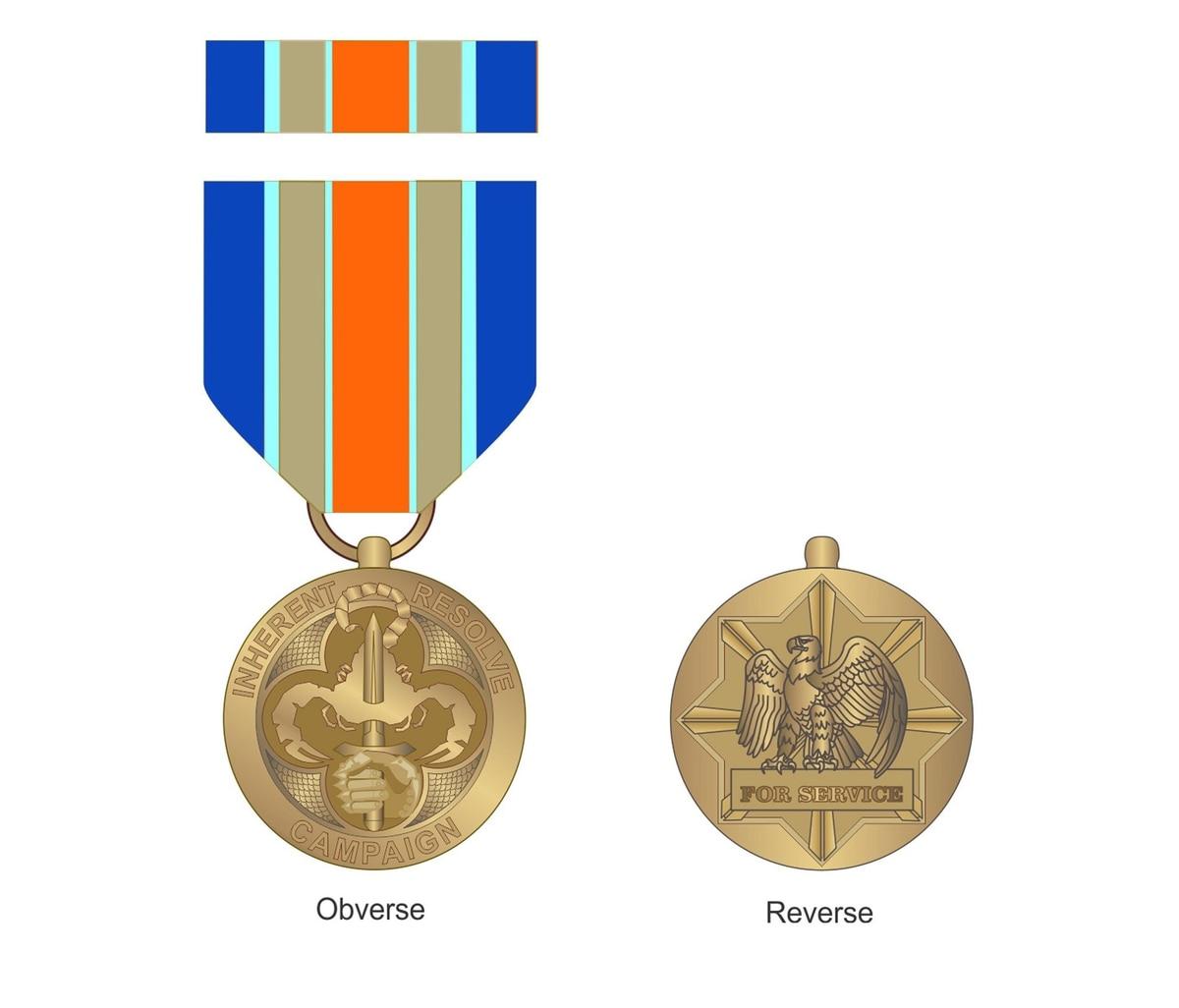 Award Rules Set For Inherent Resolve Campaign Medal