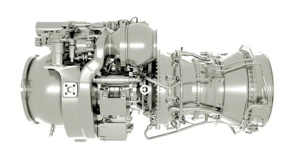 The T901 engine by GE. (Courtesy of General Electric)