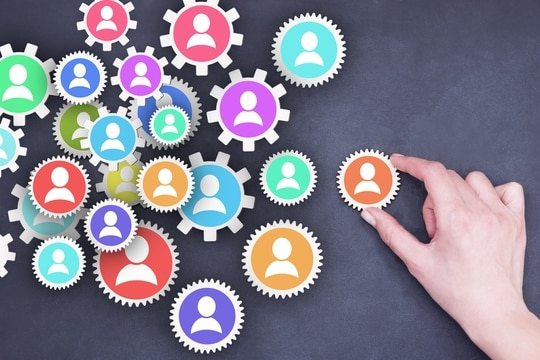 Human resources management or increase teamwork performance and leadership concept (Getty Images/iStockphoto)