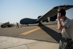 Northrop's fix for F-35 and F-22 communications problem involves Global Hawk drones