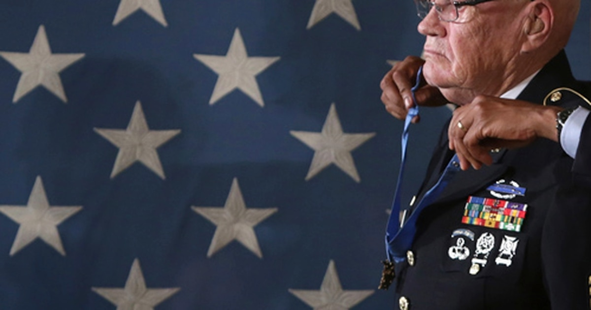Beloved Medal of Honor recipient Bennie Adkins critically ill and hospitalized with COVID-19