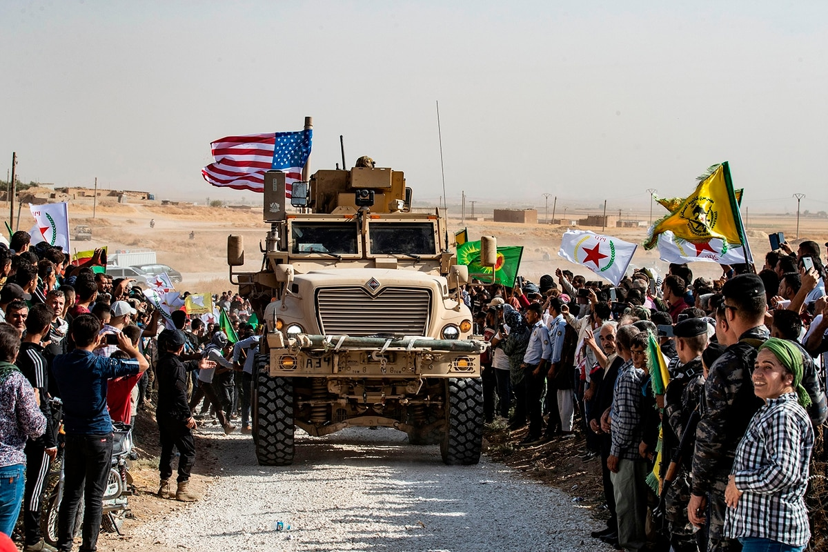 US troops believe Turkey deliberately fired artillery at an American  commando outpost in Syria