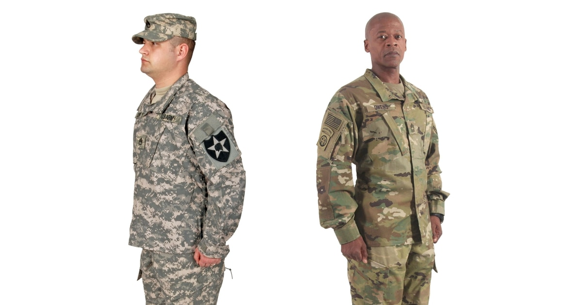 Unit leaders erroneously crack down on mixed camo