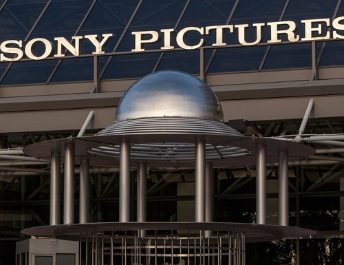 FILE - This Dec. 19, 2014 file photo shows an exterior view of the Sony Pictures Plaza building in Culver City, Calif. The Justice Department has charged a computer programmer working on behalf of the North Korean government with the hack of Sony Pictures Entertainment in 2014, along with the massive Wannacry ransomware attack last year and an $81 million theft from a bank in Bangladesh. (/Damian Dovarganes/AP)