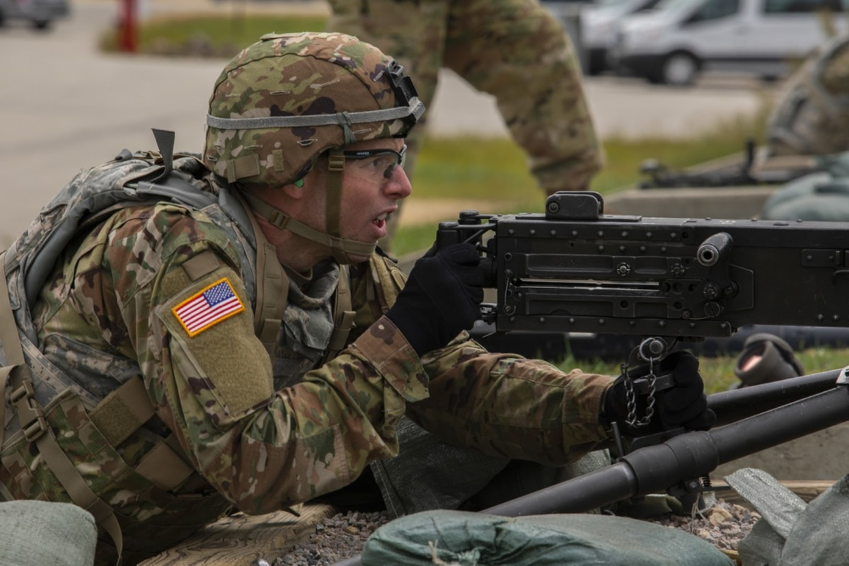 U.S. Army • Best Warrior Competition • Land Navigation Course • Sept 8 2020
