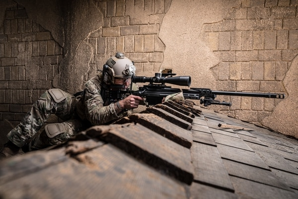 The Marine Corps recently selected the Nightforce Advanced Tactical Riflescope for its newest sniper rifle the Mk 17 Mod 3. The photos, provided by the company, feature the scope but not the rifle nor a Marine shooter. (Nightforce)