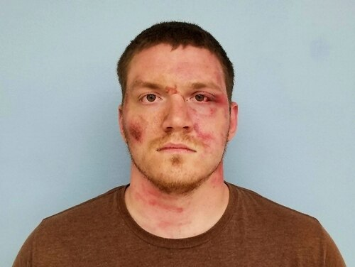 This booking photo released by the Auburn Police Department on Monday, May 20, 2019, in Auburn, Ala., shows Grady Wayne Wilkes. (Auburn Police Department via AP)