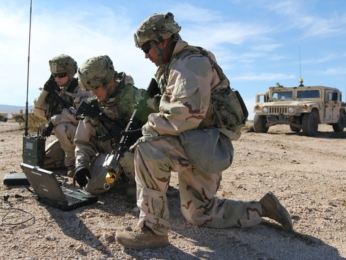 The Army is still working out kinks and experimenting with new multidomain forces. (Army)